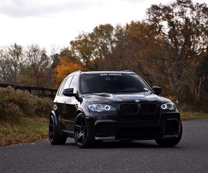 black, bmw, and luxury image
