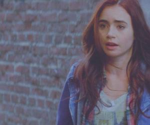 beautiful, girl, and lily collins image