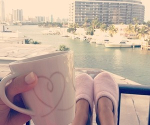 summer, cup, and pink image