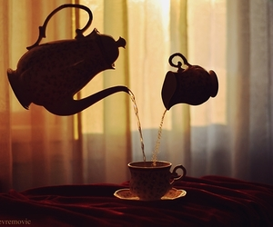 tea, cup, and magic image