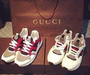 gucci, basket, and sneakers image