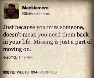 quote and macklemore image