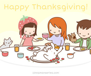 thanksgiving and cute image