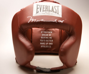 boxing, fighting, and helmet image