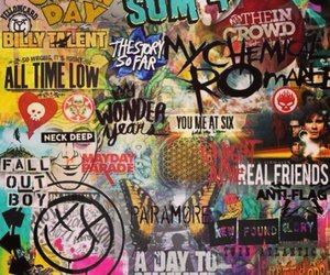 band, all time low, and green day image