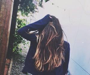 hair and girl image