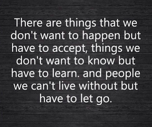 quote, life, and accept image