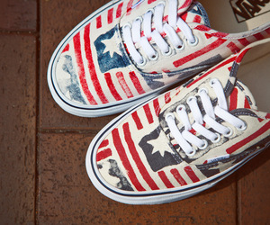vans and usa image