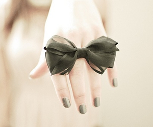 bow, nails, and ring image