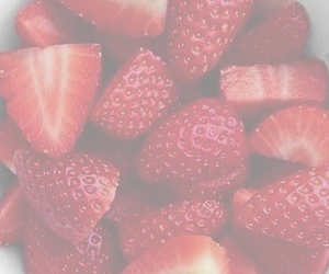 header, strawberry, and red image