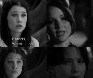 annie, the hunger games, and katniss image