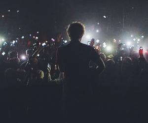 ed sheeran, concert, and music image