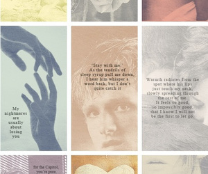catching fire, quote, and hunger games image