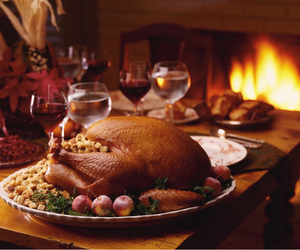 thanksgiving, turkey, and food image