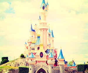 castle, disney, and Dream image
