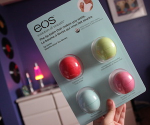 eos, lips, and girly image