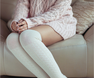 cozy, outfit, and fashion image