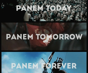 panem, the hunger games, and catching fire image