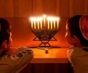 celebration, family, and hanukkah image