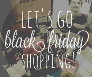 shopping, black friday, and thanksgiving image