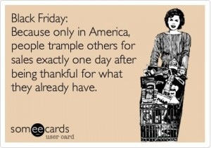 black friday, funny, and shopping image