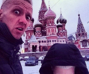 die antwoord, moscow, and russia image