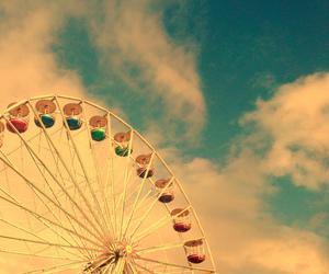 adventure, colors, and ferris wheel image