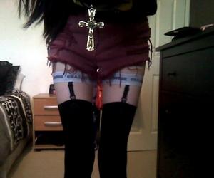 black hair, brunette, and legs image