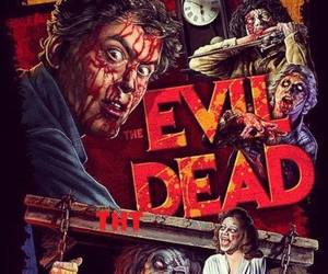 Evil Dead, gore, and miedo image