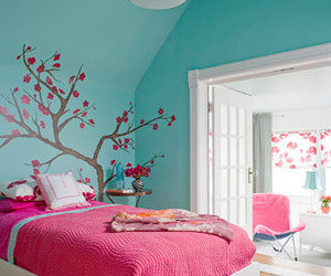 bed, bedrooms, and decoration image