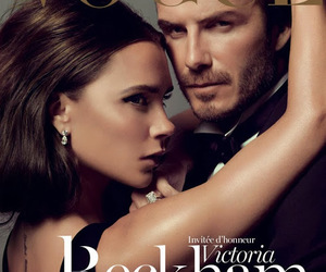 David Beckham, vogue, and vogue paris image