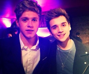 niall horan, one direction, and elyar fox image