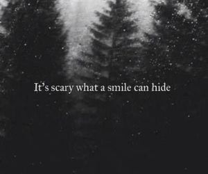 hide, quotes, and scary image