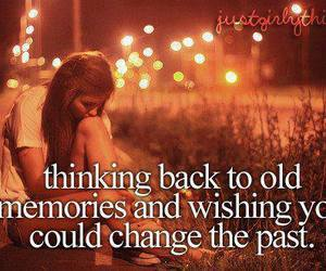 memories, past, and quote image