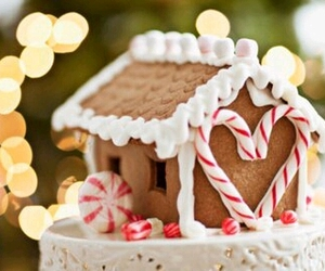 christmas, sweet, and gingerbread image