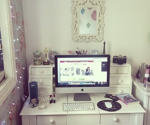 room, apple, and white image