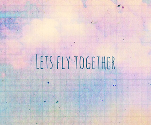 fly, cute, and love image