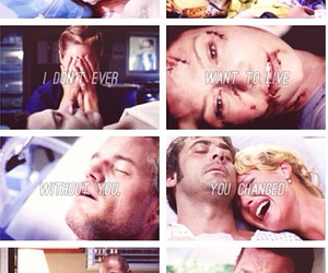 death, I Love You, and lexie grey image