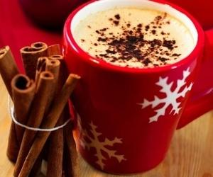 christmas, chocolate, and coffee image
