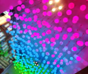 bright, colours, and lights image