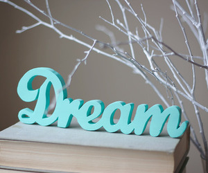 Dream, book, and blue image
