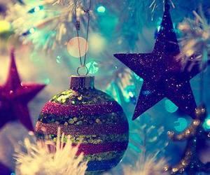christmas, december, and stars image