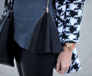 black, combination, and fashion image