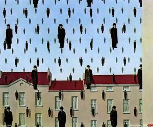 adorable, rene magritte, and surrealism image