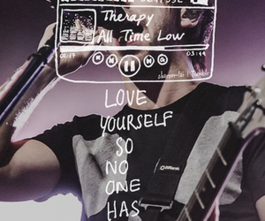all time low, therapy, and Lyrics image