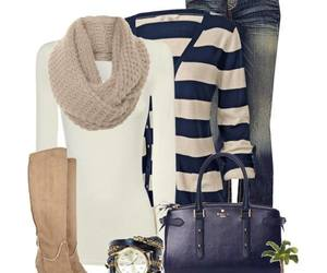 outfit, jeans, and blue image