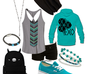 fashion, outfit, and exo image