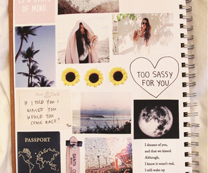 cool, diary, and girly image