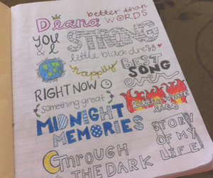 best song ever, colorful, and diana image