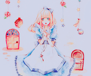 alice, anime girl, and illustration image